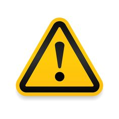yellow warning dangerous attention icon icon danger symbol filled flat sign solid pictogram isolated on white. attracting attentionsecurity first sign. Triangle Symbol, Triangle Logo, Traffic Light Sign, Slip And Fall, Heavy Machinery, Symbol Logo, Pictogram, Water Crafts, Florida