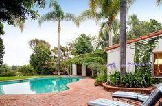 Marilyn Monroe's Patio and Pool