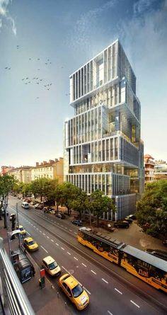 A Plus Photos: Sofia Tower Building, Bulgaria