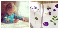 Nature Art for Kids - Shadow Tracing and Nature Journals