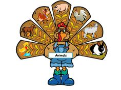 Free! Turkey fun...learn new vocabulary, ask and answer WH questions! Thanks to the speech ladies!