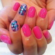 art for nails - Hot Pink  Maruchihoro