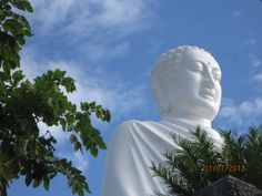 Buddha at Long son pagoda