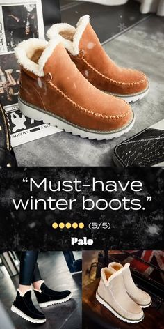 Pyrenees Fleece Boots - Off!- Pyrenees Fleece Boots – Off! Pyrenees Fleece Boots – Off! New Handbags, Fashion Handbags, Fashion Shoes, Fashion Outfits, Winter Boots, Snow Boots, Ankle Boots Outfit Winter, Winter Fashion Boots, Cute Shoes