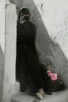 Hijab Niqab, Muslim Hijab, Mode Hijab, Hijab Outfit, Arab Girls Hijab, Muslim Girls, Muslim Women, Niqab Fashion, Muslim Fashion
