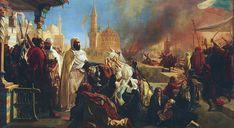 Abd el-Kader secourant les chrétiens (Jan-Baptist Huysmans 1861)