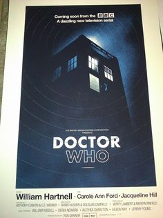 Olly Moss's Doctor Who Poster for Mondo (Extremely Rare)