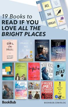 all the bright places movie Teen books you can read in your (and in if you liked quot;All The Bright Places. Dont miss out on these bestselling teen reads! Best Books For Teens, Books To Read In Your 20s, Best Books To Read, Ya Books, Book Club Books, I Love Books, Teen Books, Good Books, Teen Romance Books