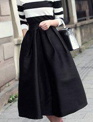 Vintage Slim Fitting Knee-Length Floral Print High Waist Women's Full SkirtVintage Skirts | RoseGal.com