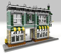 Modele Lego, Building Drawing, Lego Trains, Lego Modular, Lego Room, Lego News, Lego Creator, Lego House, Everything Is Awesome