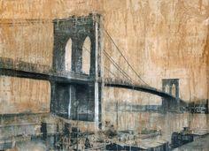 Paintings of New York, travel art