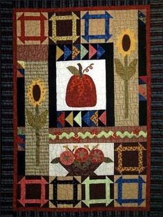 Quilting - Lap Quilt Patterns - Pieced Quilt Patterns - Fall Bounty