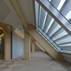 Tamedia Office Building | Zurich, Switzerland | Shigeru Ban | photo © didier boy de la tour