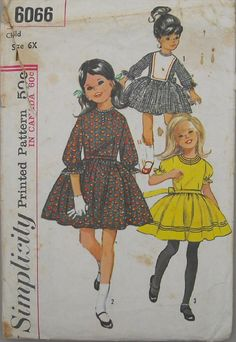Simplicity 6066  Vintage 60s Mad Men Fashion by omasbricabrac, $4.95