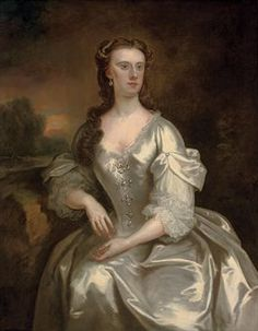 Lady Georgina Spencer (d.1780), later Countess Cowper by John Vanderbank