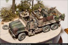 : Die Luftwaffe im Modell :. Army Surplus Vehicles, Military Vehicles, Military Tactics, Military Art, Luftwaffe, Plastic Model Kits, Plastic Models, Bratislava, Weather Models