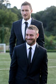 #Totti and #DeRossi in #PhilippPlein