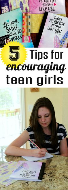 5 Tips for encouraging Teen Girls to set goals and pursue their dreams by HappyandBlessedHome setting goals, goal setting #goals #motivation