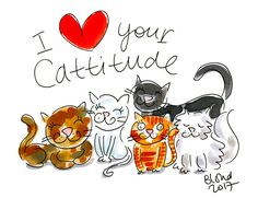 Happy Cat Day! 08 august 2017 By Blond-Amsterdam