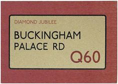 East of India - Diamond Jubilee : Buckingham Palace Road Postcard