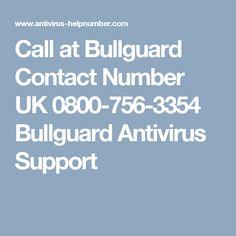 Call at Bullguard Contact Number UK 0800-756-3354 Bullguard Antivirus Support