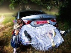 Brutti ritocchi photoshop matrimonio.
