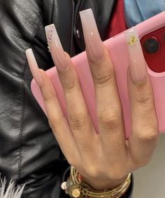 Bling Acrylic Nails, Aycrlic Nails, Oval Nails, Best Acrylic Nails, Bling Nails, Hair And Nails, Coffin Nails, Manicure, Exotic Nails