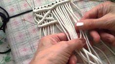 Macrame basic knots PART 2 of 10 / Макраме базовые узлы УРО. Macrame Plant Hangers, Macrame Bag, Macrame Jewelry, Macrame Bracelets, Macrame Dress, Micro Macramé, Amigurumi Tutorial, Macrame Design, Macrame Projects