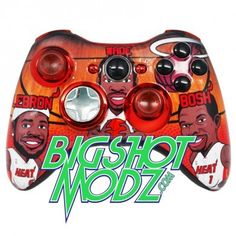 #Custom #xbox360 #controller available at BIGSHOTMODZ.COM for$149.95 Check out all the other cool designs or create your own!