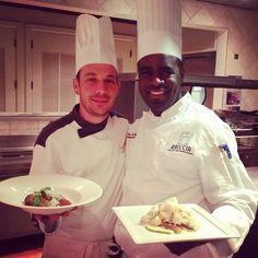 Chef Amedeo & Chef Chris are ready for Ariccia in Ariccia