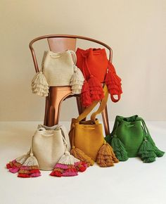La Barra Bags are available now, pick your favorite Handmade Handbags, Handmade Bags, Knitted Bags, Knitted Blankets, Hand Knit Blanket, Bridesmaid Bags, Potli Bags, Tapestry Bag, Net Bag
