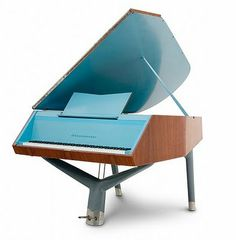 Modern Teal & Wood Piano From Schimmel & Bosendorfer Bosendorfer Piano, Piano Room, Piano Music, My Music, Piano Digital, Mundo Musical, Bass Guitar Lessons, Piano Lessons, Mozart
