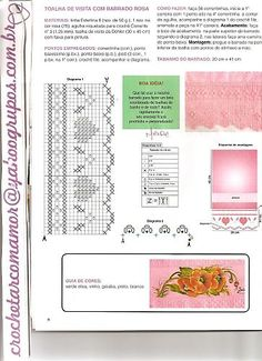 Barradinhos em Croche - claudia - Álbumes web de Picasa