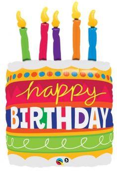GLOBO MYLAR FORMA PASTEL HAPPY BIRTHDAY