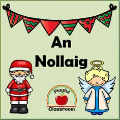 Pack of over 50 vocabulary words for Christmas as Gaeilge. Worksheets and bingo cards also included. Bingo Cards, Vocabulary Words, Worksheets, Clip Art, Classroom, Creative, Class Room, Literacy Centers, Squad
