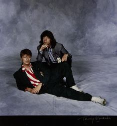 David Bowie, Mick Jagger