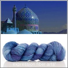 Expression Fiber Arts Yarn - PERSIA SHIMMERING CASHMERE FINGERING, $34.00 (http://www.expressionfiberarts.com/products/persia-shimmering-cashmere-fingering.html)