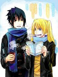 Despite the fact that Sasuke betrayed the village and his team Naruko comes to the aid of his lover and helps him in the battle with Killer bee, she kno. Naruko and Sasuke Naruko Uzumaki, Narusaku, Sasunaru, Naruto Shippuden, Boruto, Shikadai, Naruto Family, Naruto Girls, Naruto Kakashi