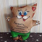 Куклы и игрушки ручной работы. Ярмарка Мастеров - ручная работа Кофейные коты. Handmade.