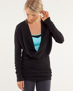 Lululemon wrap sweater