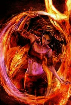 Endellion, Goddess of fire and untamed energy