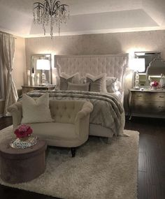 Bedroom Design Ideas – Create Your Own Private Sanctuary Peaceful Bedroom, Cozy Bedroom, Bedroom Decor, Bedroom Ideas, Bedroom Furniture, Bedroom Images, Furniture Decor, Master Bedroom Design, Master Room