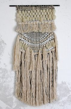 White Magic Weaving by All Roads part of the Supermoon collection for Urban Outfitters, Malibu Country Mart.
