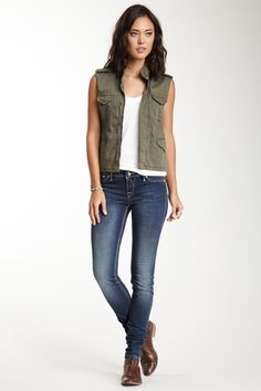 Carla Skinny Jegging by Rock Revival on @HauteLook
