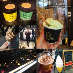 My favorite icecream store in Taipei ~!! They serve fine gelato and softcreams. Different menu everyday~! Check out more on >> http://fb-hanabipunch.blogspot.tw/2013/08/top-ranked-icecream-shop-taiwan.html