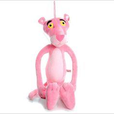 Plush Doll Cute Pink Panther Stuffed Doll Baby Toy
