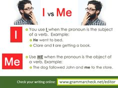 """English Grammar - Is it """"Me and John"""" or """"I and John""""?"""