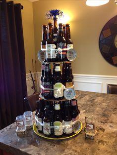 Craft beer cake!!