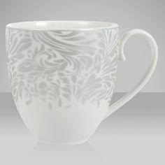 Buy Denby Monsoon Lucille Silver Tableware Online at johnlewis.com ...