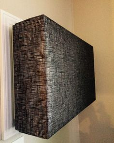 8 Clever Ways to Hide an Ugly AC Unit Fabric covered boxes
